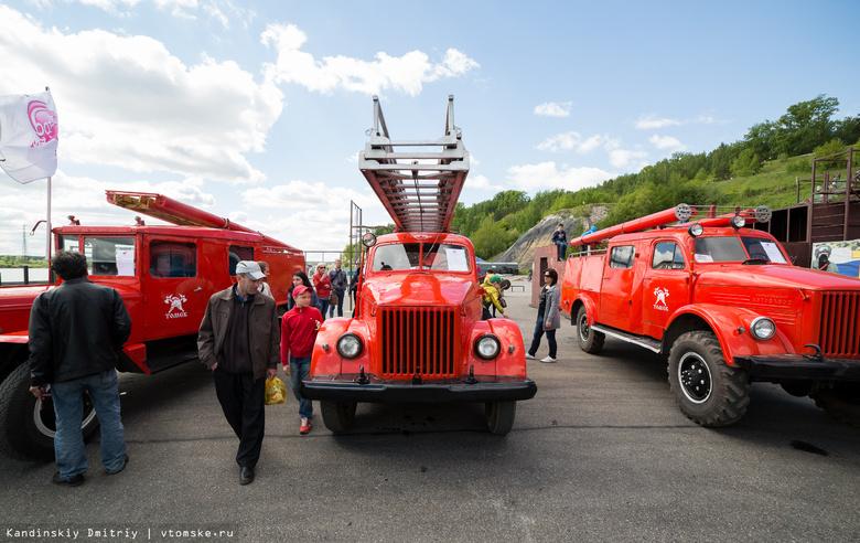 Томичи увидят пожарную технику разных времен в Лагерном саду