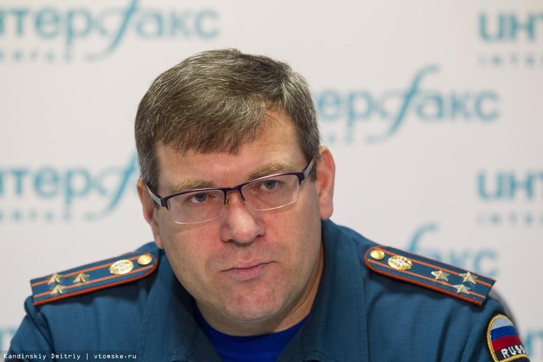 Задержанный глава томского МЧС Михаил Бегун не признал вину в получении взятки