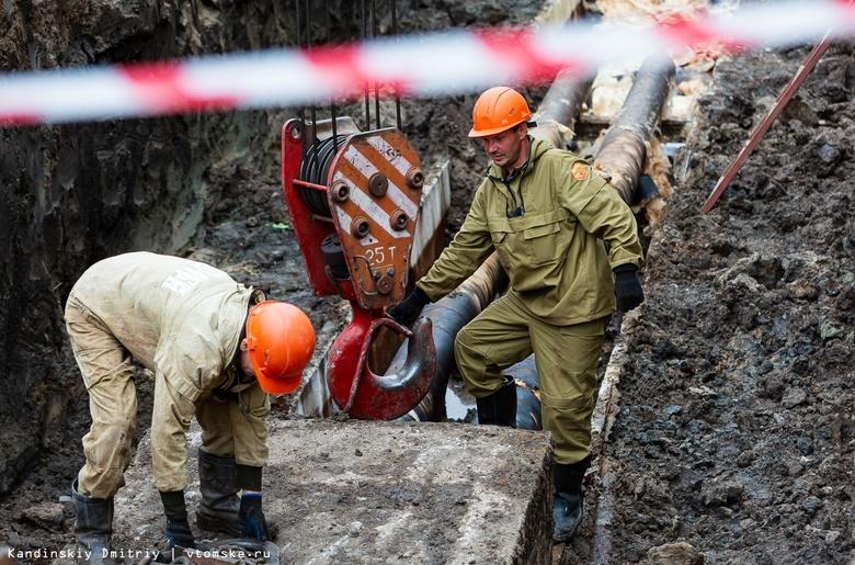 Сроки включения горячей воды сорваны в более чем 300 домах Томска