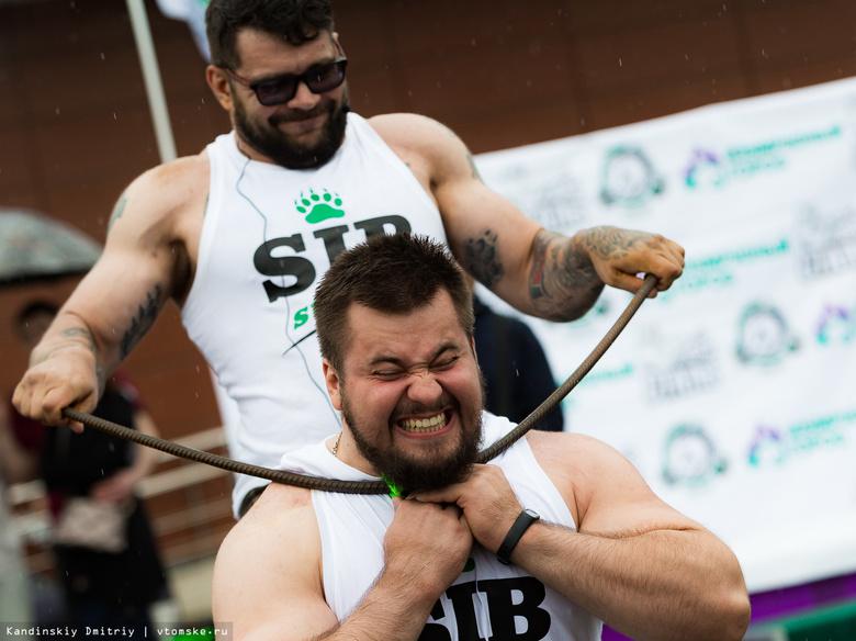 «Богатырские игры»: в Томске прошли соревнования по силовому экстриму