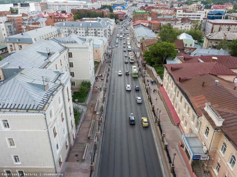 Мэрия Томска уберет пешеходный переход на перекрестке Ленина — Беленца