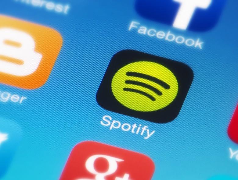 Музыкальный сервис Spotify заработал в России