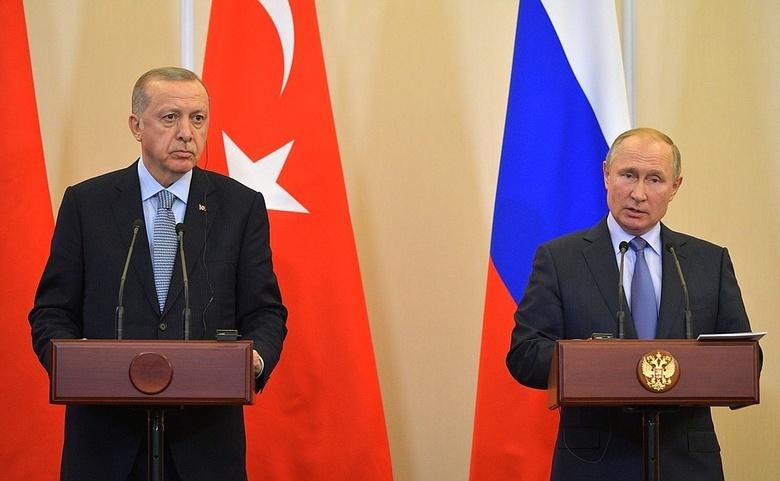 Переговоры в Сочи: о чем договорились Путин и Эрдоган