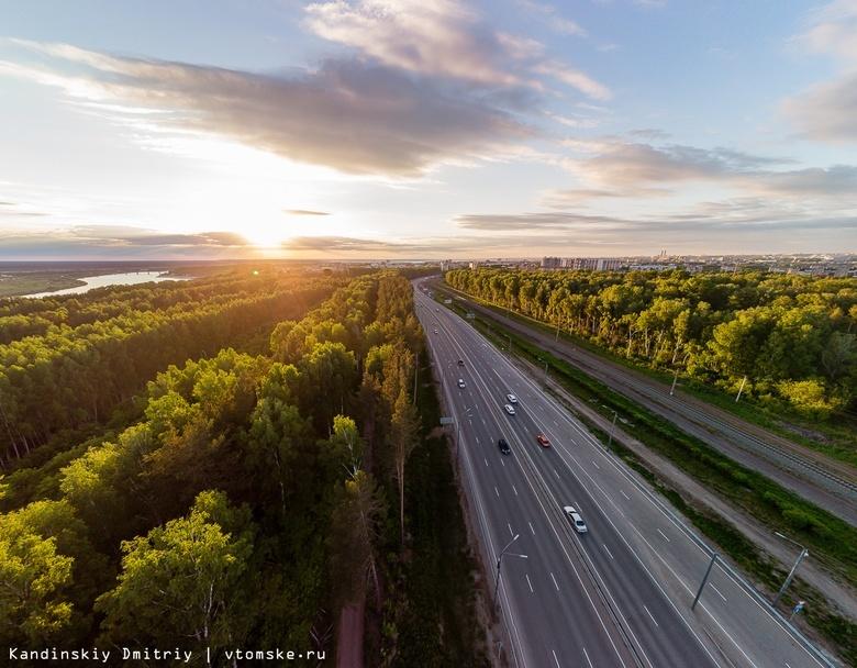 Мэрия намерена улучшить схему движения в районе новой развязки на юге Томска