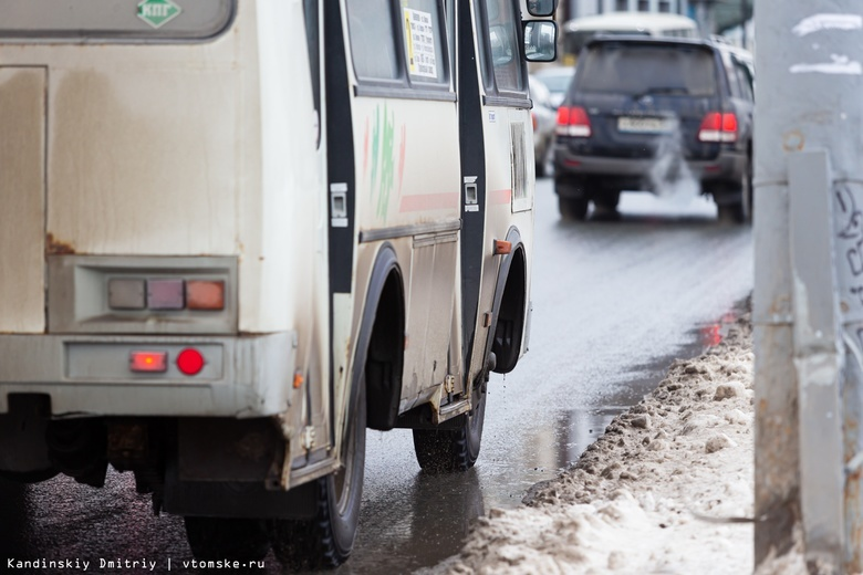Маршрутки в Томске будут ходить реже из-за снижения пассажиропотока