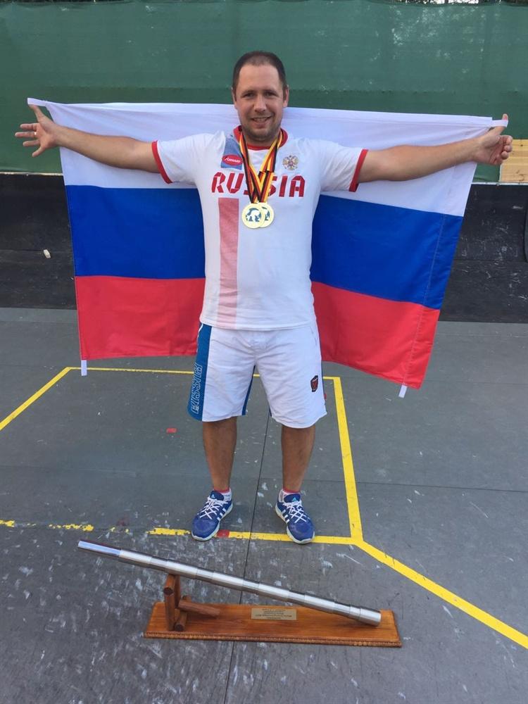 Спортсмен из Северска возглавил рейтинг сильнейших городошников мира