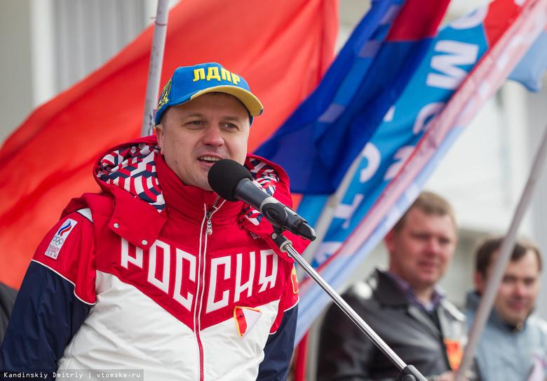 Жириновский одобрил участие Диденко ввыборах губернатора Томской области