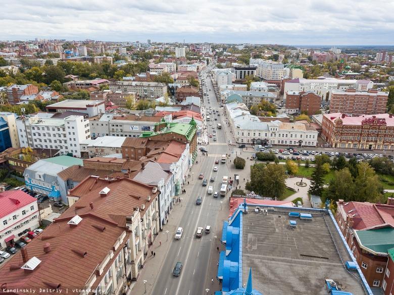 Власти Томска будут бороться с мешающими пешеходам лестницами в магазины