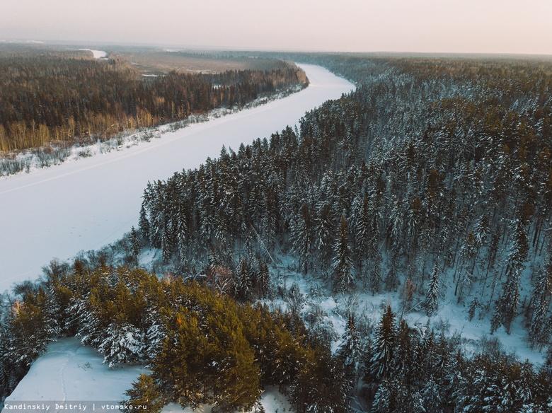 Томичей предупреждают об опасности выхода на тонкий лед