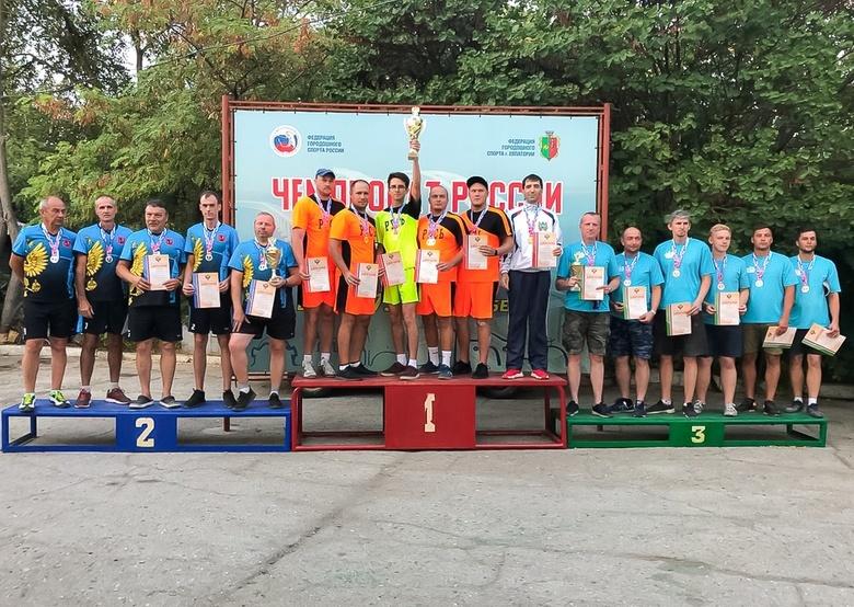 Сборная Томской области выиграла чемпионат РФ по городошному спорту