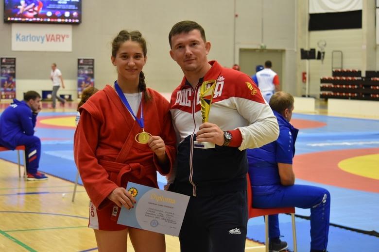 Самбистка из Томска стала обладательницей Кубка Европы