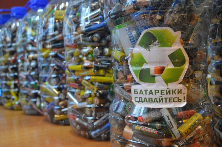 Организаторы томского экопроекта перевезут 1,7 тонны батареек на полигон из-за жары