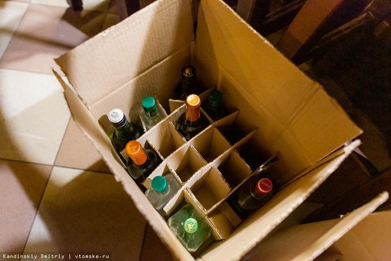 Более 20 тыс литров нелегального алкоголя изъяли с начала года в Томской области