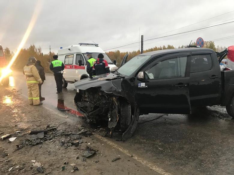 Пьяный водитель Kia без прав устроил аварию на трассе в Томской области. Пострадали двое