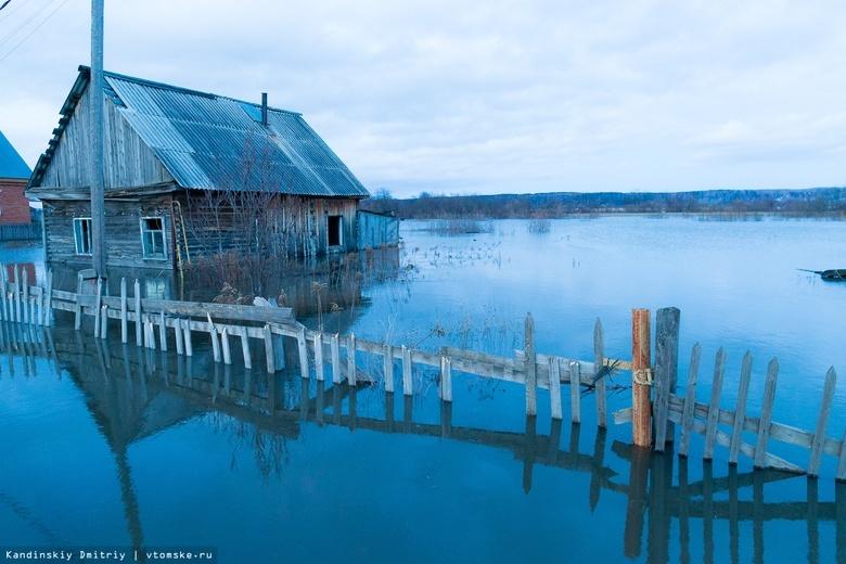 Более 50 приусадебных участков подтопило в Томской области из-за паводка