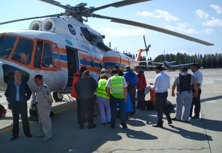 Альпинисты из Томска попали под камнепад в горах Киргизии