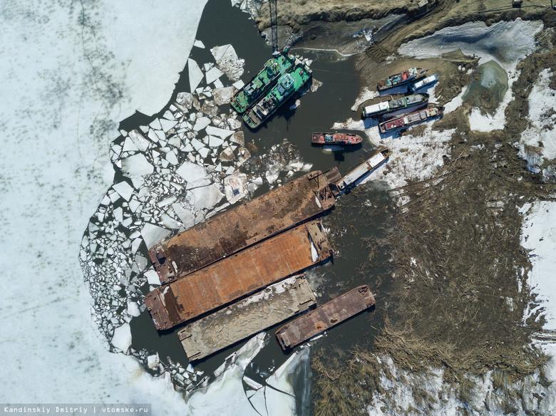 «Томская судоходная компания» успешно завершила навигацию-2017