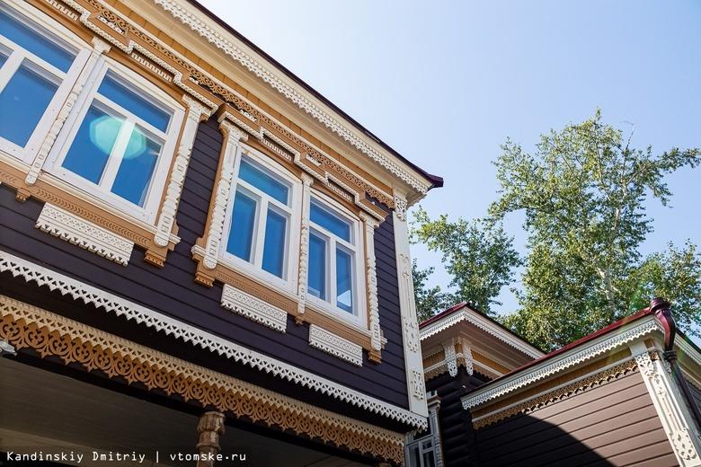 Восстановление дома-памятника в центре Томска завершат до Нового года