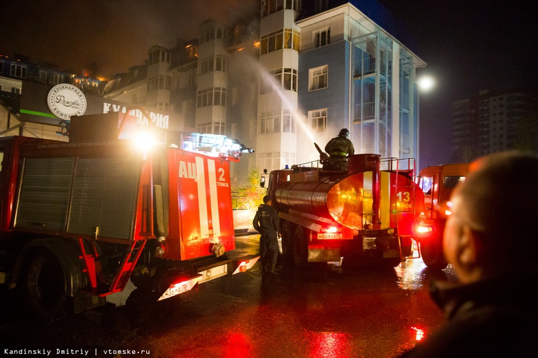 Площадь пожара в Академгородке Томска выросла до 600-700 «квадратов»
