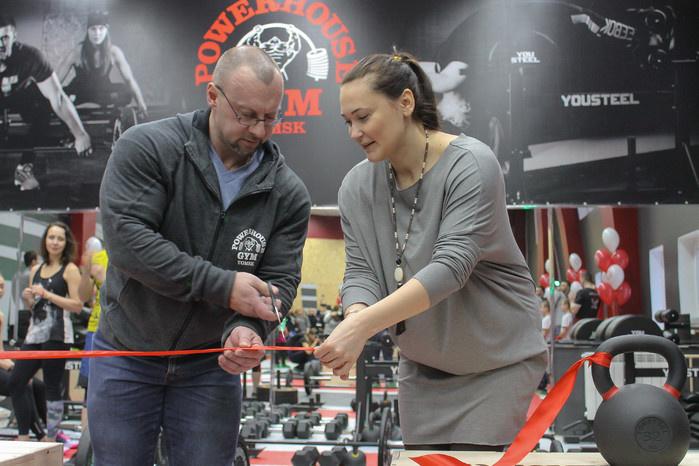 Фитнес-центр с мировым именем открыл в Томске новый зал