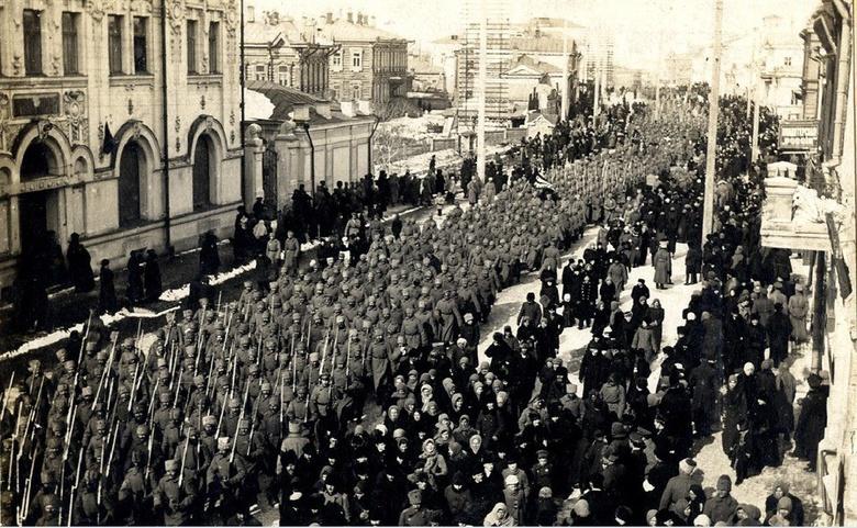Март 1917-го в Томске: революция