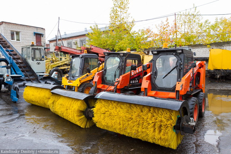 Мэрия Томска купит САХу 2 машины для уборки снега за 11 млн руб
