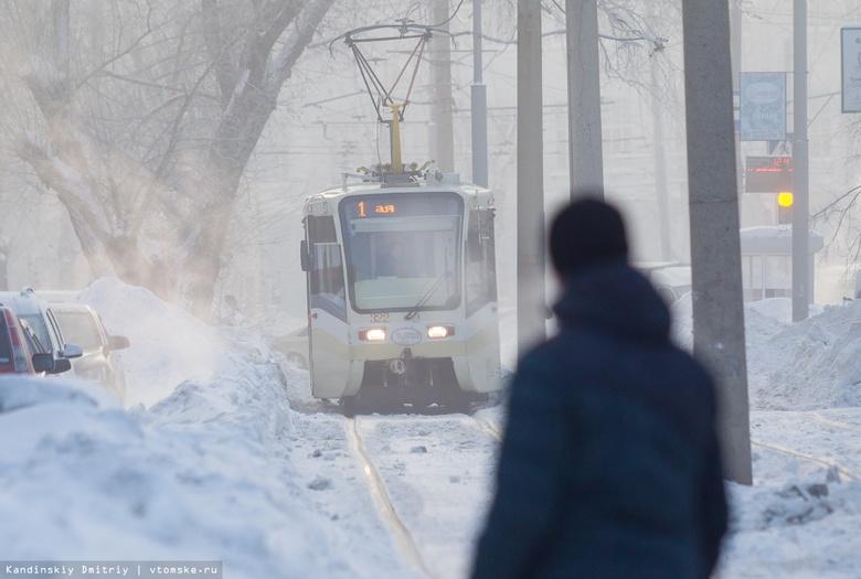 Ремонт трамвайных путей на участке Лебедева в Томске завершат до августа 2020г