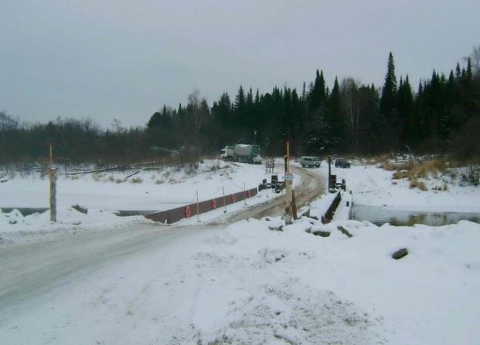 В Томской области открылись первые наплавные мосты