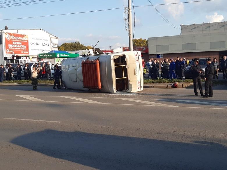 Томск парализовали сильные пробки из-за перекрытия Иркутского тракта в месте ДТП