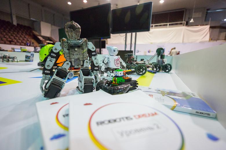 Томичи завоевали несколько наград на национальном этапе RoboCup-2017