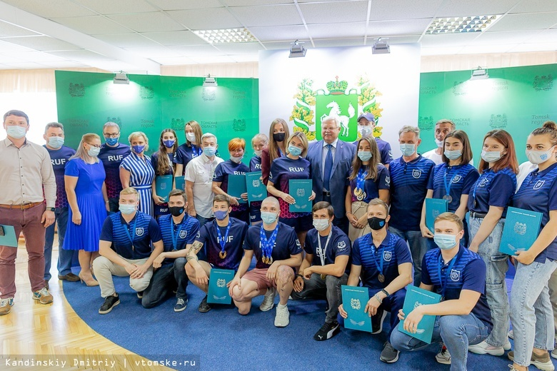«Томск — сокровище»: подводники области получили благодарности за чемпионат мира