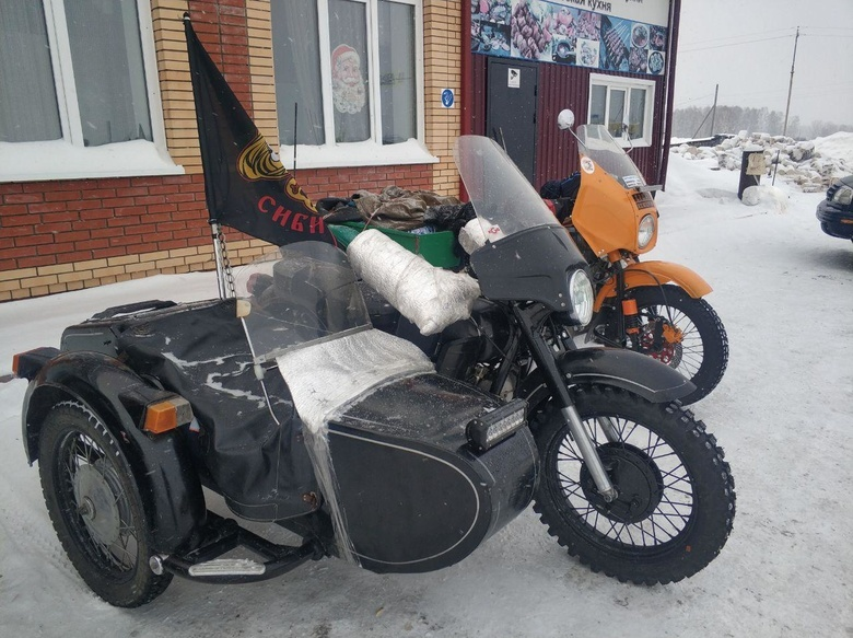 Томские байкеры проедут до Шерегеша на мотоциклах с колясками