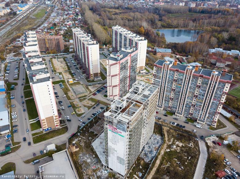 Власти: бетонный блок на Нефтяной в Томске установлен собственниками правомерно