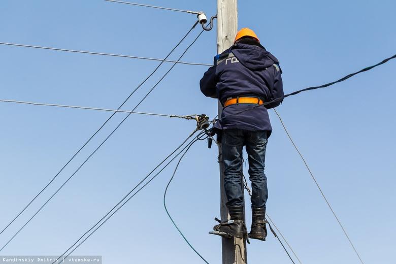 «Горсети»: более 10 предприятий остались без электричества из-за «черных лесорубов»