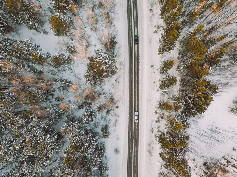 ГИБДД рекомендует томичам сменить летние шины у своих авто на зимние