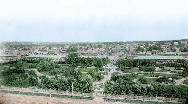 Непрерывность парков: где гуляли и веселились жители дореволюционного Томска