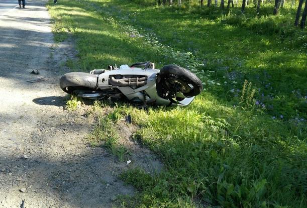 Молодой мотоциклист умер вДТП натрассе Томск— Аэропорт