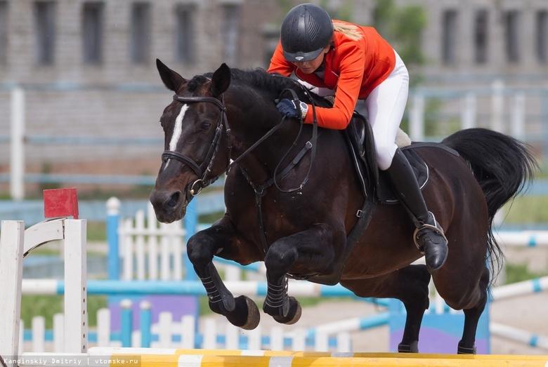 Томичка взяла бронзу на всероссийских соревнованиях по конному спорту