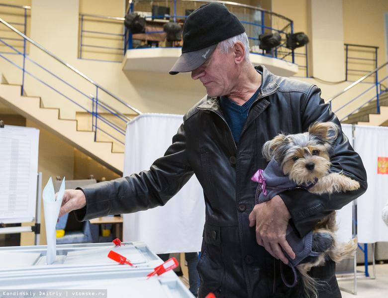 Более 9 % избирателей проголосовали на выборах главы Томской области к полудню