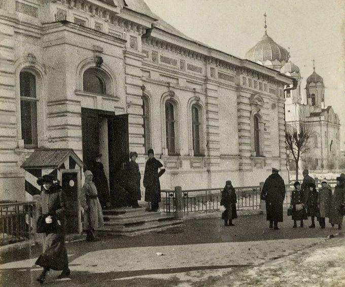 Дом свободы в революционном марте 1917 года