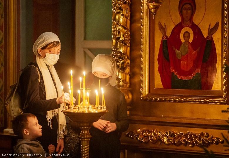 Как православные томичи встретили Рождество. Фоторепортаж