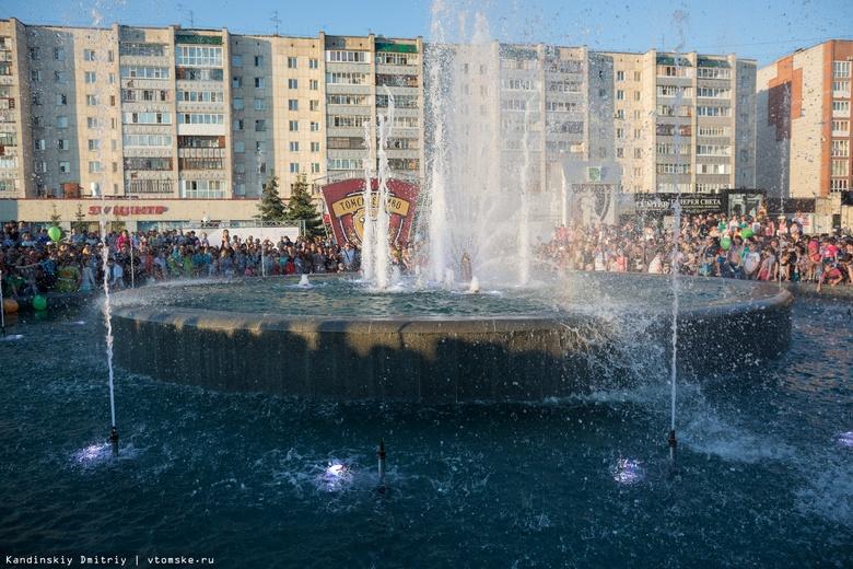 Вандалы повредили Фонтан молодости в Томске