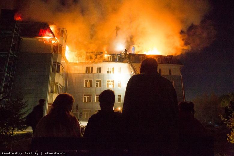 Загоревшийся термопот мог стать причиной крупного пожара в Академгородке Томска