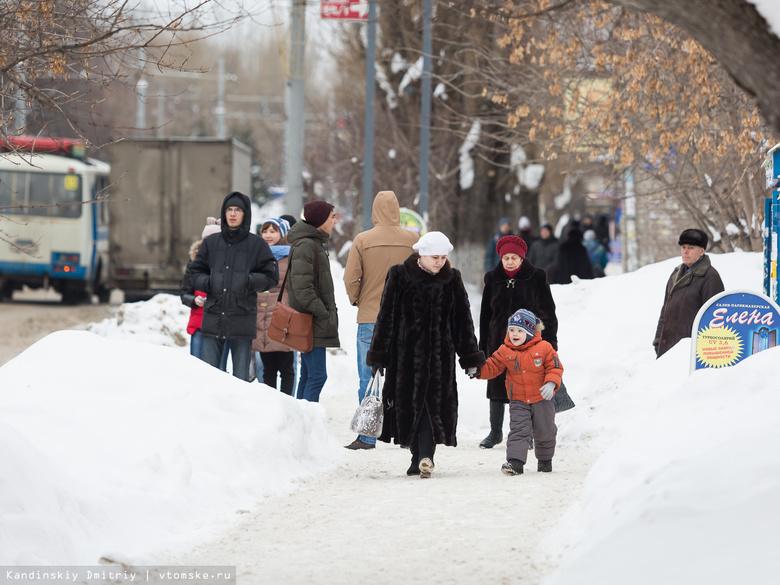 Статистика: в Томской области проживает почти 1,08 млн человек
