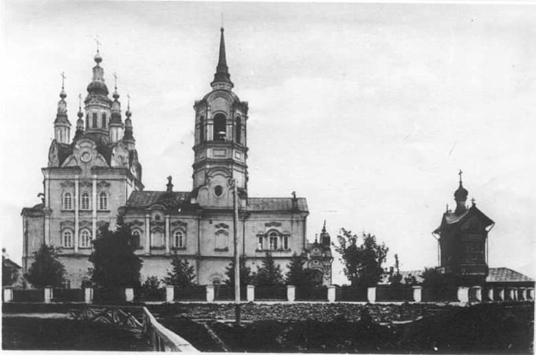 Воскресенская церковь в начале 20 века