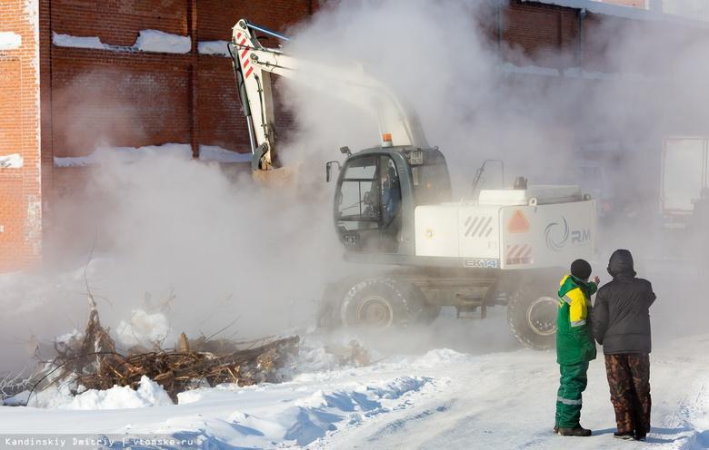 Износ уложенных в 90-е трубопроводов стал причиной 600 коммунальных аварий в Томске