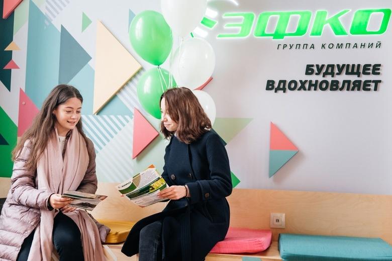 В ТПУ открылась лаундж-зона «ЭФКО» для студентов и сотрудников